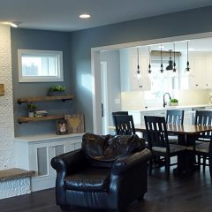 Elm Kitchen and Family Room